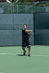 Forehand rotation
