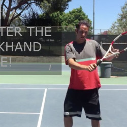 backhand slice picture