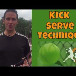kick serve