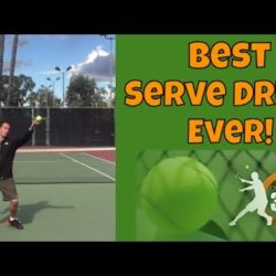 Tennis Serve Technique